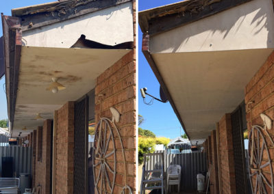 Eaves Replacement Before & After